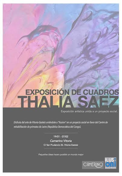 Exposición de cuadros Thalia Saez